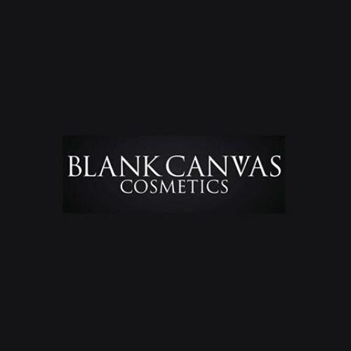 blank canvas cosmetics logo