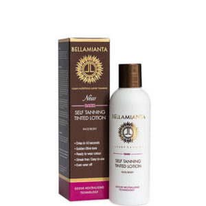 Bellamianta Self Tanning Lotion Dark