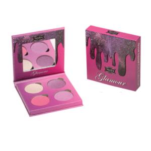 glamour quad fuschia makeup